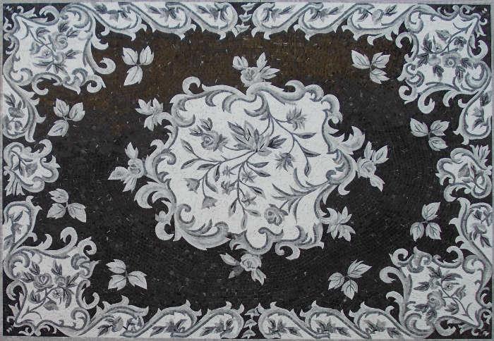 mosaico tappeto